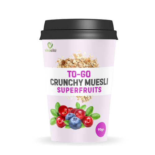 to go crunchy muesli with superfruits vivacite health food factory macedonia. Black Bedroom Furniture Sets. Home Design Ideas
