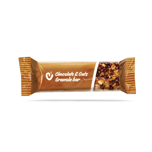 Chocolate and Oats Granola Bar