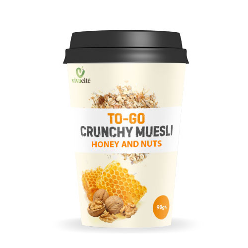 To-Go Crunchy Muesli with Honey and Nuts