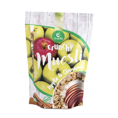 Crunchy Muesli with Apple and Cinnamon 500g