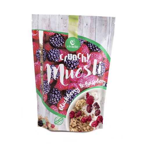 Crunchy Muesli with Blackberries and Raspberries 500g
