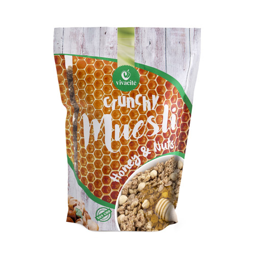 Crunchy Muesli with Honey and Nuts 500g