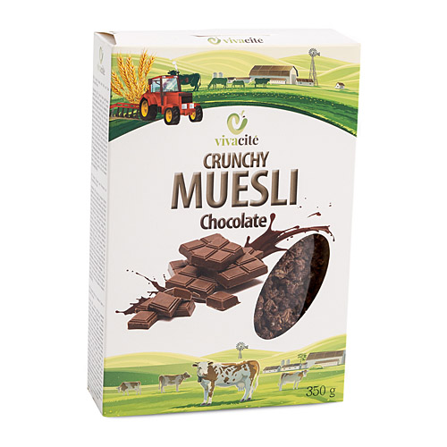 Crunchy Muesli with Chocolate 350g