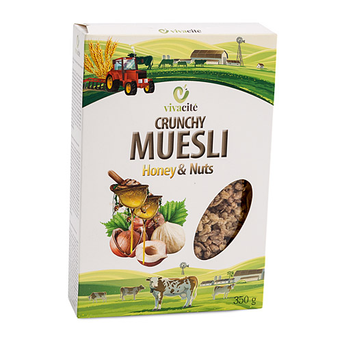 Crunchy Muesli with Honey and Nuts 350g